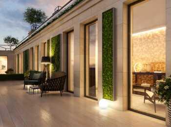 Классический стиль экстерьера здания